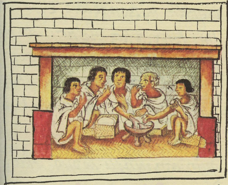 What did the Aztecs eat?