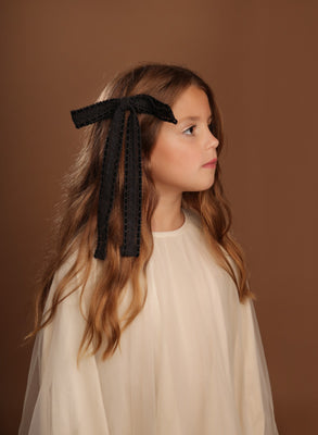 Winter Lace Long Bow