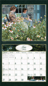 2021 Age of Innocence Wall Calendar