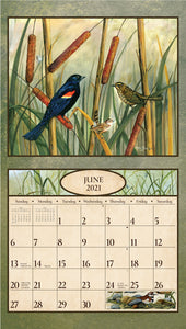 2021 Birds in the Country Wall Calendar
