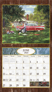 2021 Dad's Cars, Trucks, & Tractors Wall Calendar