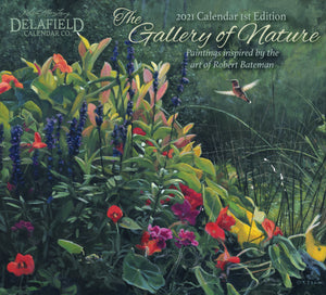 2021 The Gallery of Nature Wall Calendar