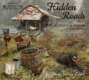 2021 Hidden Roads Wall Calendar