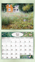 Load image into Gallery viewer, 2021 Quiet Days & Peaceful Seasons Wall Calendar