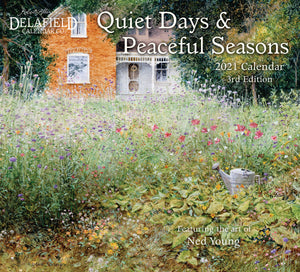 2021 Quiet Days & Peaceful Seasons Wall Calendar