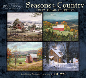 2021 Seasons in the Country Wall Calendar
