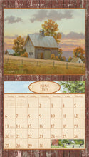 Load image into Gallery viewer, 2021 Time for Old Barns Wall Calendar