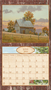 2021 Time for Old Barns Wall Calendar
