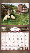 Load image into Gallery viewer, 2021 Vintage Homes Wall Calendar