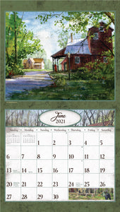 2021 Backroads Wall Calendar