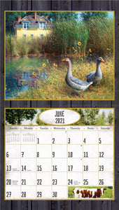 2021 Farmstead Friends Wall Calendar