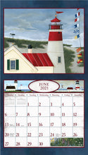 Load image into Gallery viewer, 2021 Lighthouse Wall Calendar
