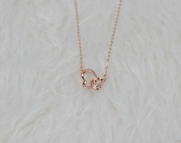 Together Hearts Necklace