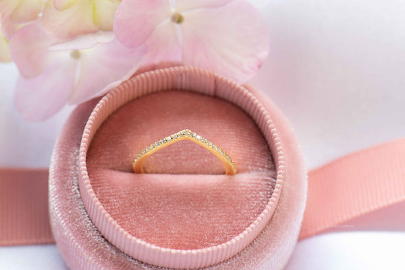 Cape Ring Gold Plated