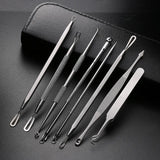 Dr Pimple Popper Tool - 8 Pcs Blackhead Extractor