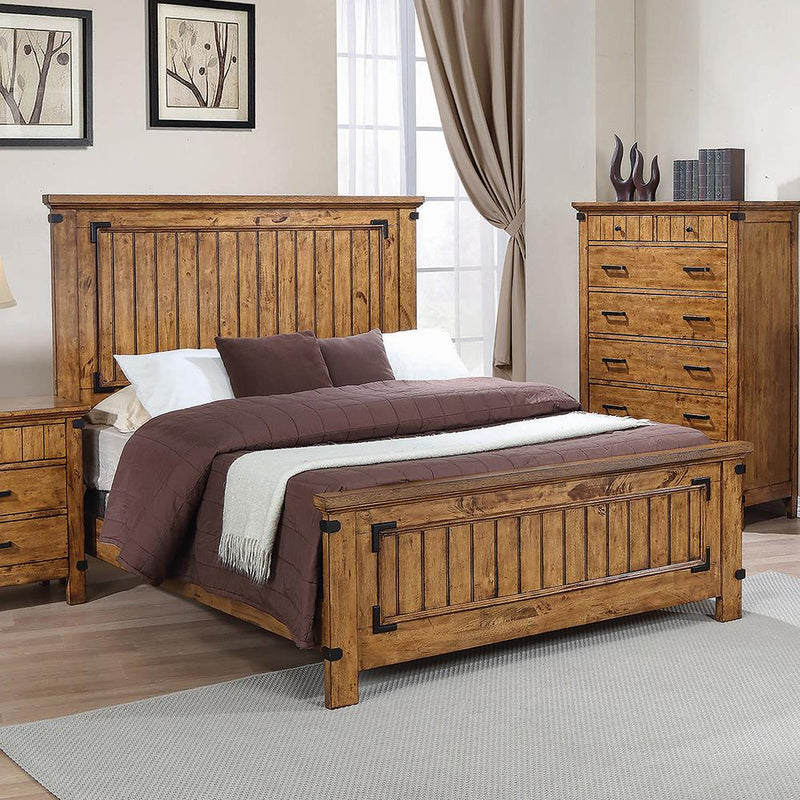 Brenner Rustic Honey Full Bed image