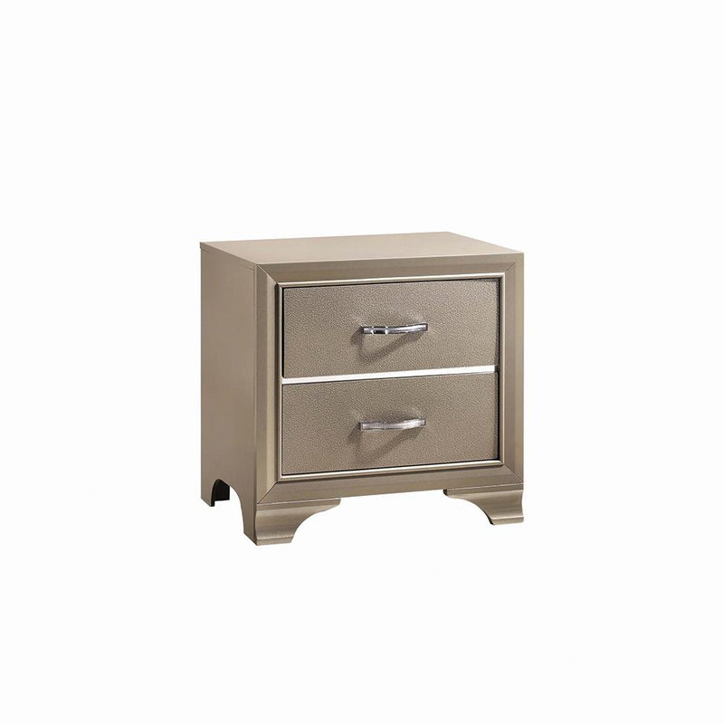 Beaumont Transitional Champagne Nightstand image