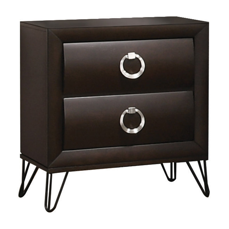 Tablita Dark Merlot Nightstand