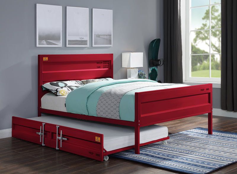 Cargo Red Full Bed