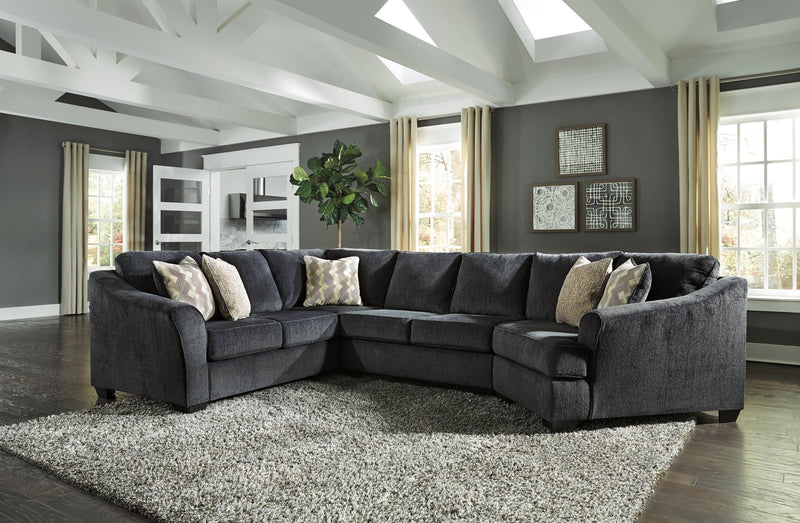 Eltmann Signature Design by Ashley 3-Piece Sectional with Cuddler image
