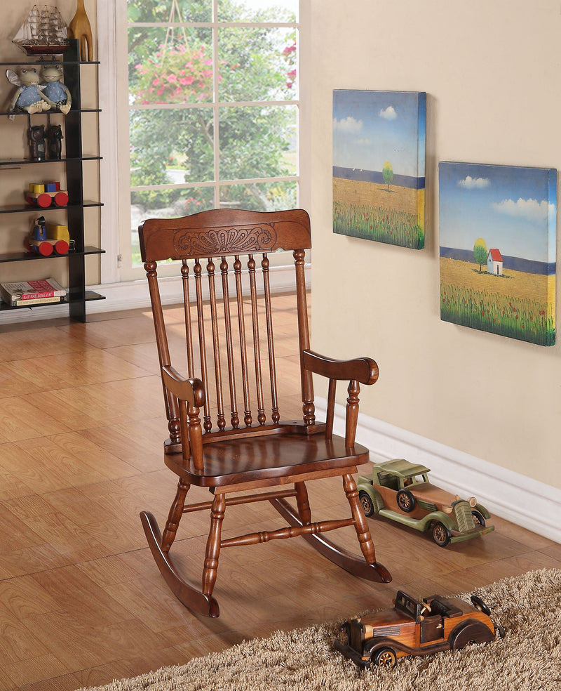 Kloris Tobacco Youth Rocking Chair