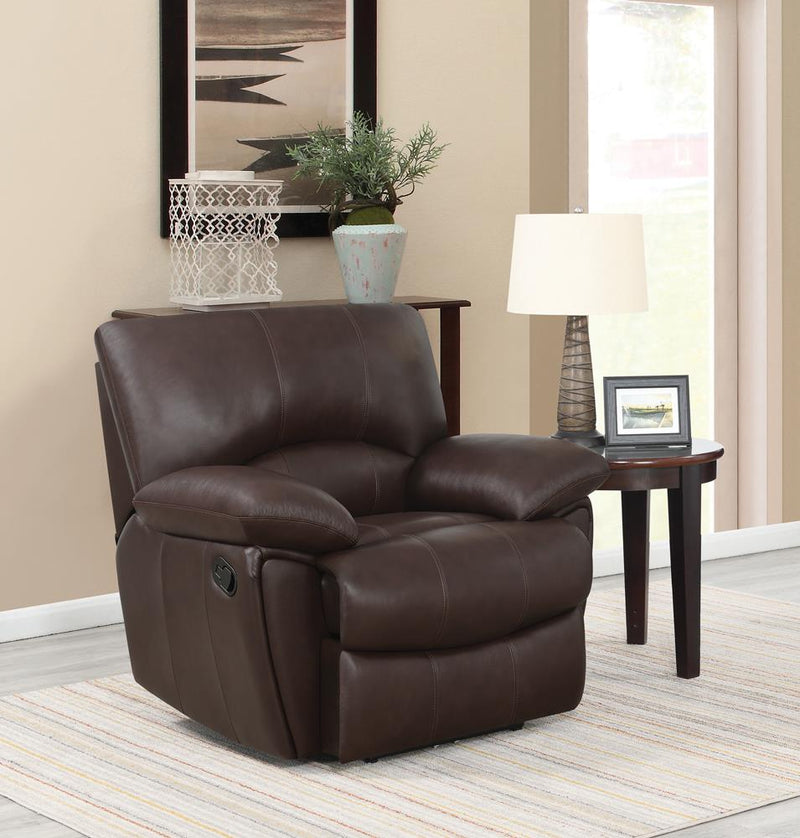 Clifford Motion Dark Brown Glider Recliner image