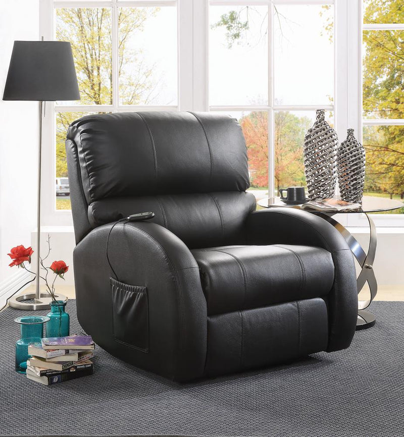 G600416 Casual Black Power Lift Recliner image