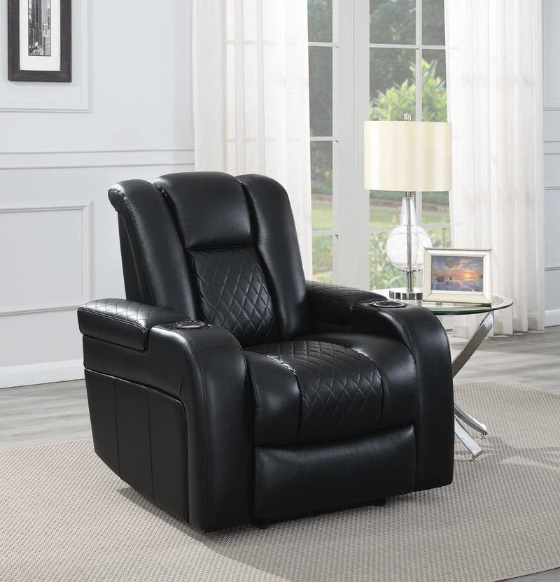 Delangelo Black Power Motion Recliner image