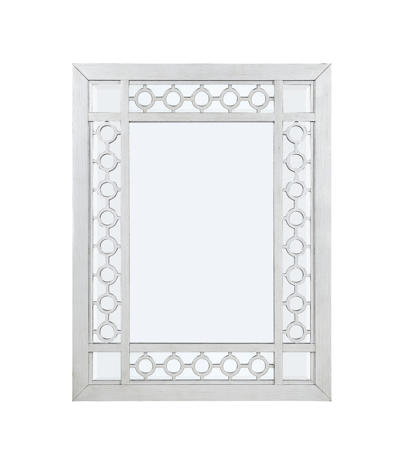 Varian Mirrored & Antique Platinum Mirror