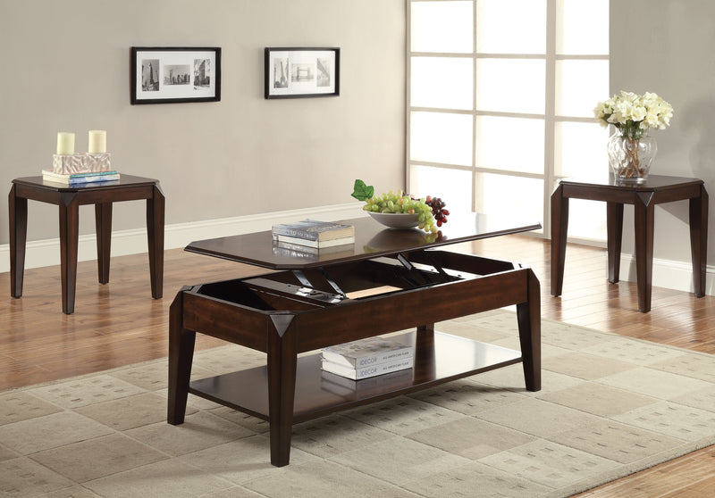 Docila Walnut Coffee Table