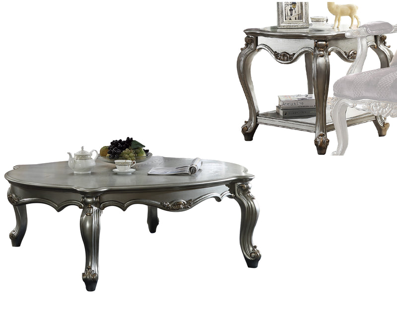 Picardy Antique Platinum Coffee Table