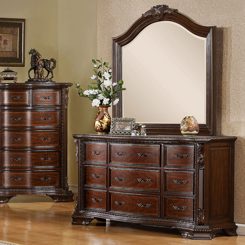 Monte Vista I Brown Cherry Dresser