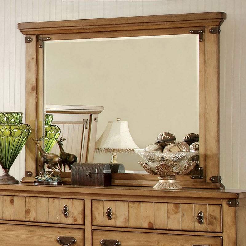 PIONEER Weathered Elm Mirror