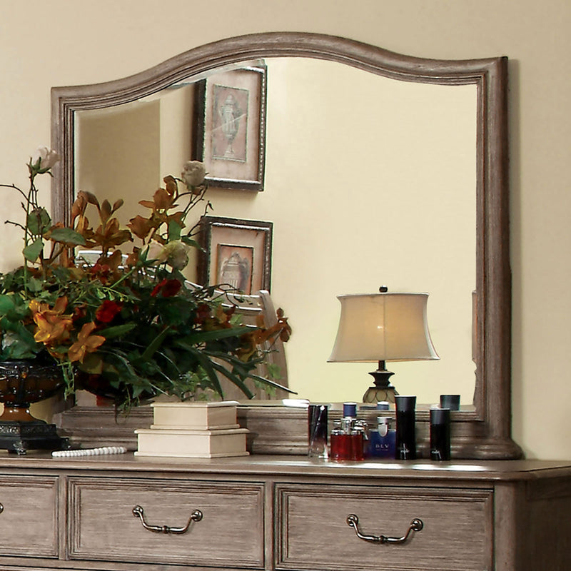 BELGRADE I Rustic Natural Tone Mirror