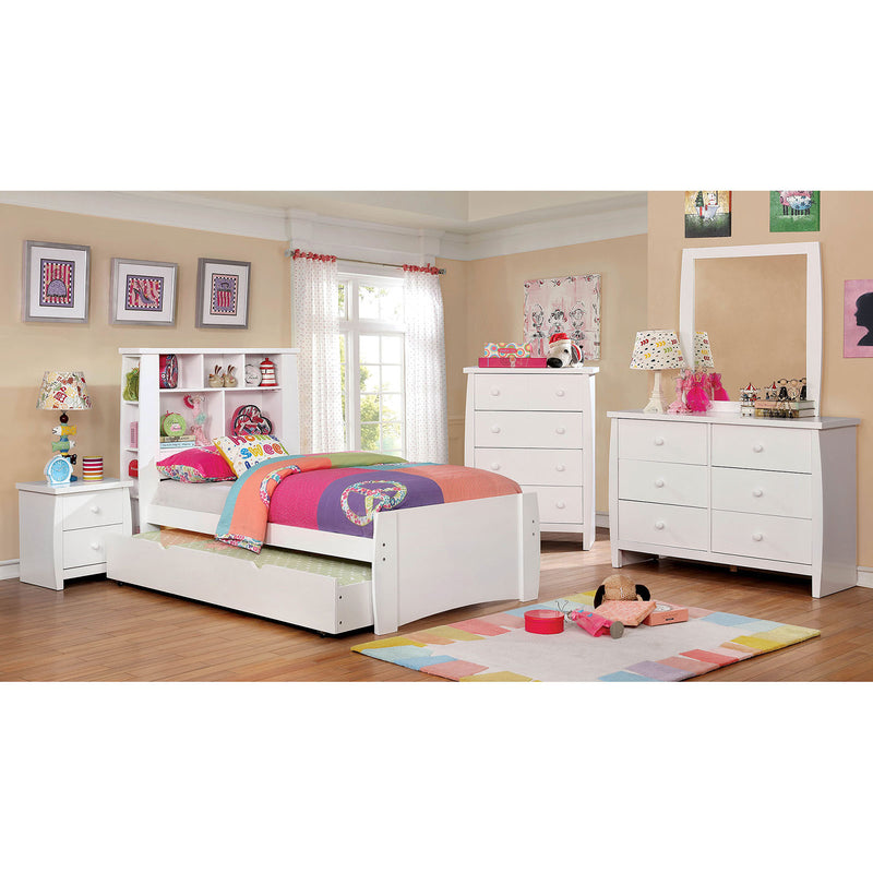 Marlee White 4 Pc. Full Bedroom Set