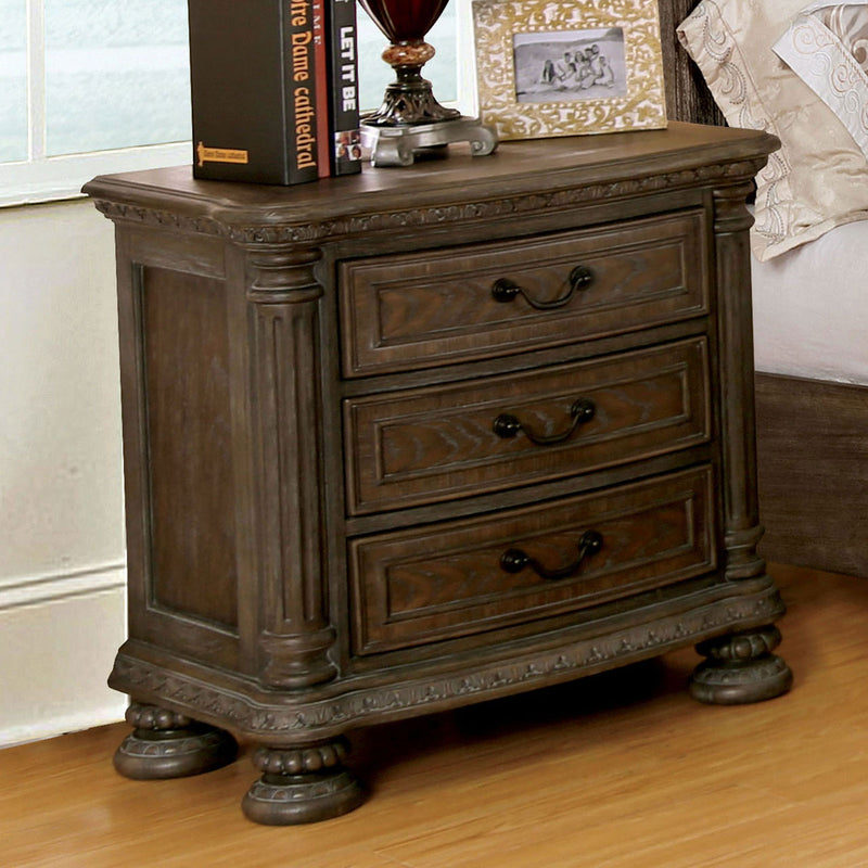 Persephone Rustic Natural Tone Night Stand