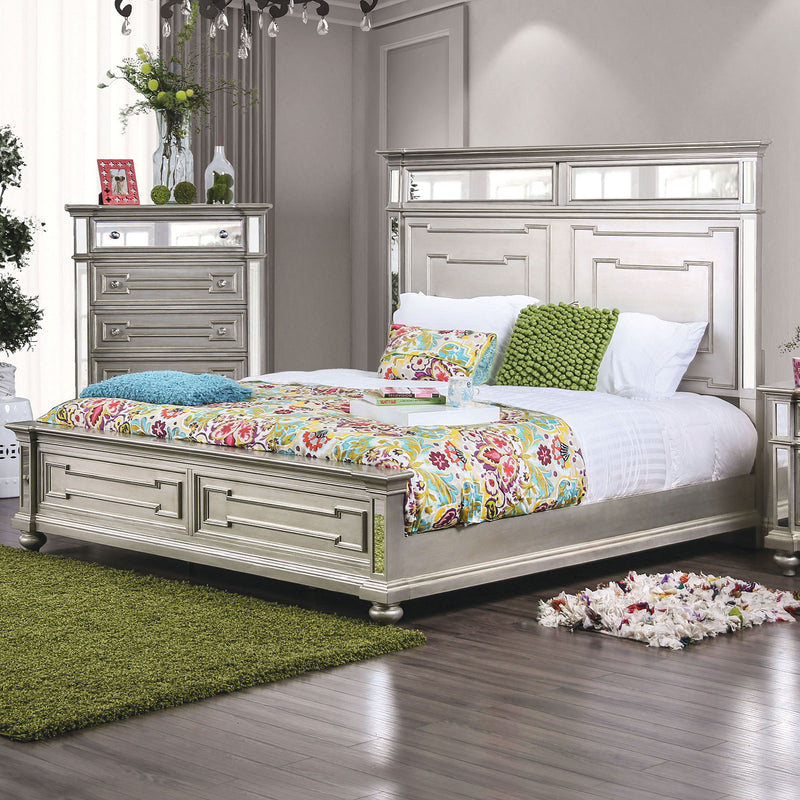 Salamanca Silver Cal.King Bed