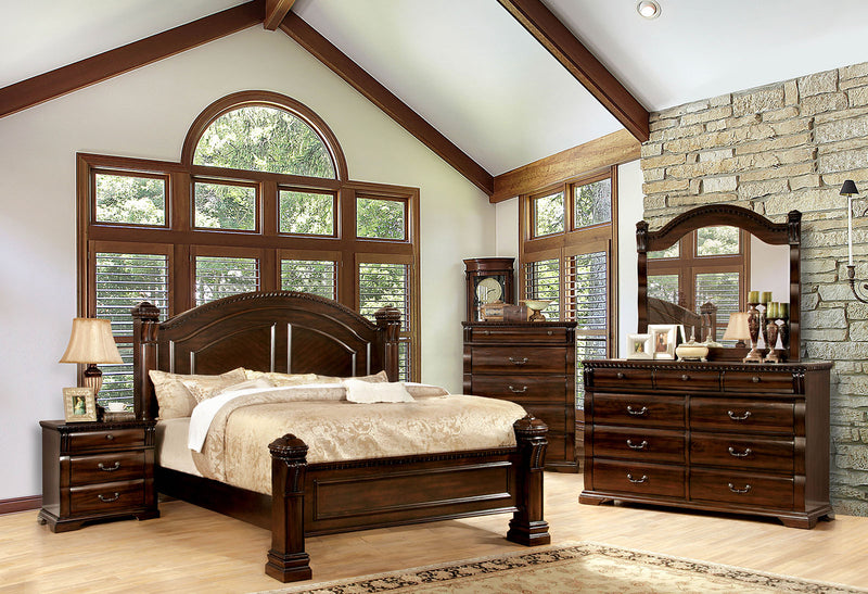 BURLEIGH Cherry 4 Pc. Queen Bedroom Set