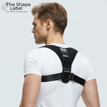 Afbeelding in Gallery-weergave laden, The Shape Label™ - Shoulder Brace Lite Rugbrace | Postuur & Rug Corrector - Houding Correctie