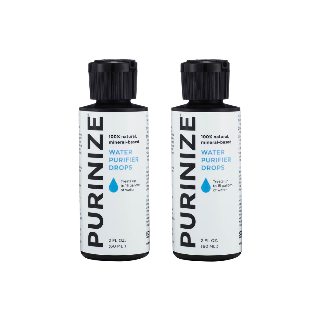 PURINIZE® WATER PURIFIER DROPS 60 ML 2-PACK (10% OFF)