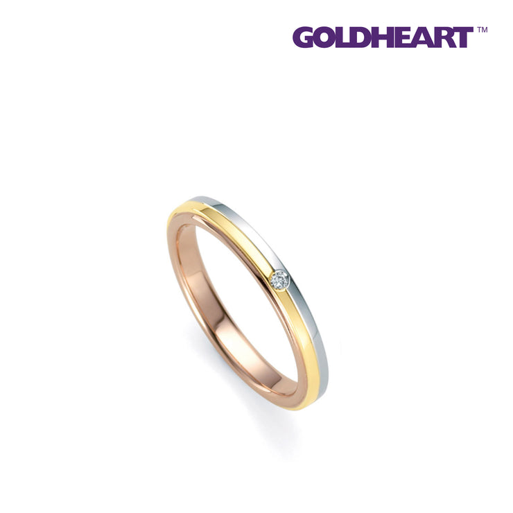 Blue Romantic | Goldheart White Gold 750 (18K) (4A5001)
