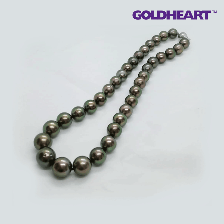 Tahiti Pearl Necklace | Goldheart White Gold 750 (18K)