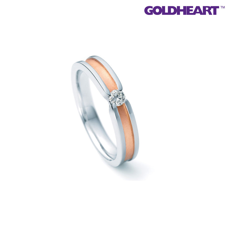 Nina Ricci Diamond Ring | Goldheart Platinum 900 (6RM003)