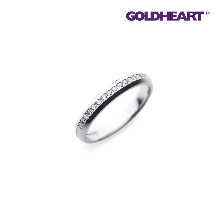 Something Blue Sapphire Ring | Goldheart Platinum 1000 (SP-802)