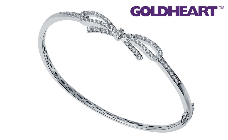 Promesse Diamond Bangle | Goldheart White gold 750 (18K) (B0925)