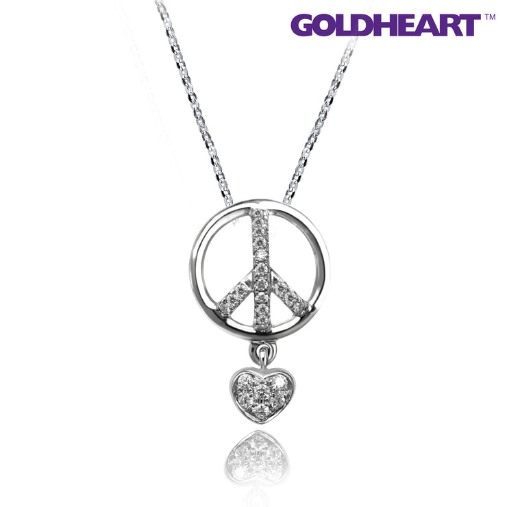 Espoir Diamond Pendant | Goldheart White Gold 375 (9K) + Palladium (P5927)