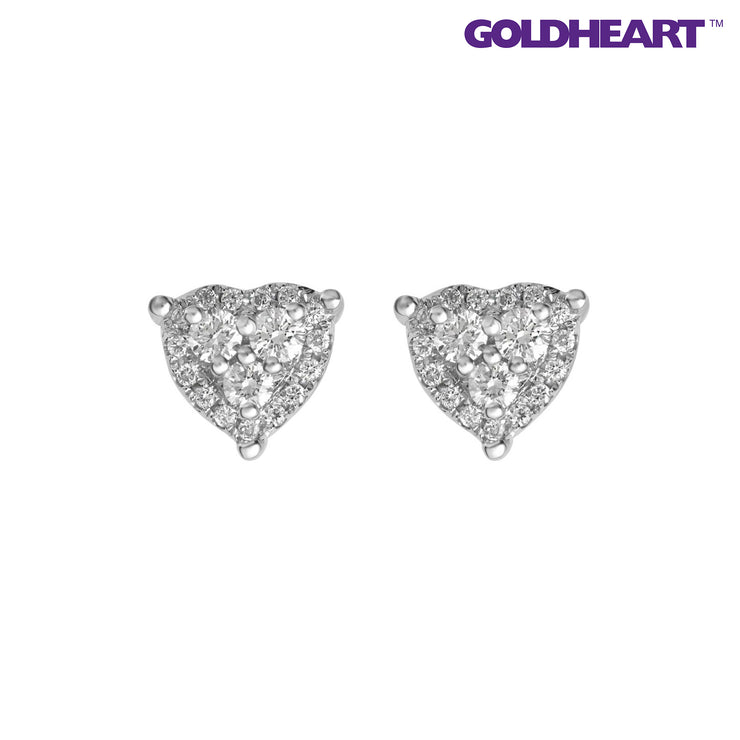 Endless Love Diamond Earrings | Goldheart White Gold 750 (18K) (E1713)