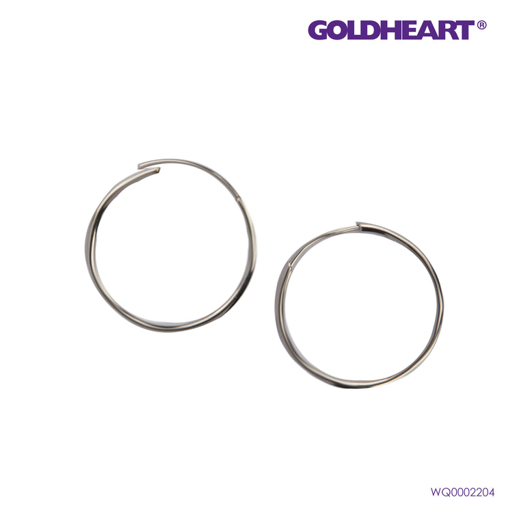 Infinitely Bewitching  Earrings | Goldheart White Gold 750 (18K) (WQ0002204)