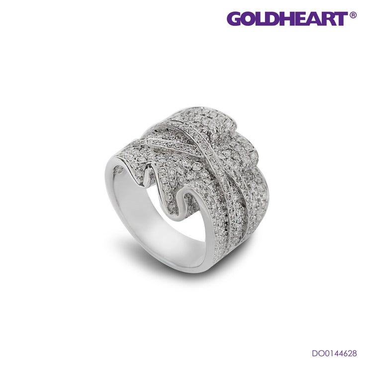 Diamond Ring | Goldheart White Gold 750 (18K) (DO0144628)