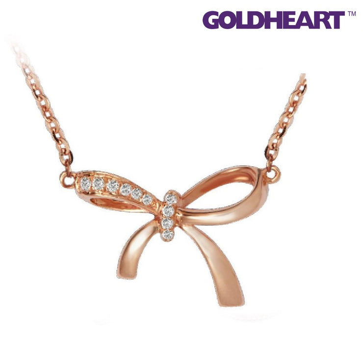 Key to Happiness Diamond Pendant Set | Goldheart Rose gold 750 (18K) (JMBN0132)